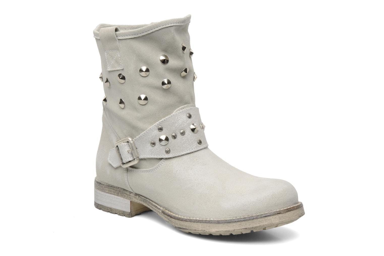 Ankelstøvler Méliné Mulaby Beige detaljeret billede af skoene