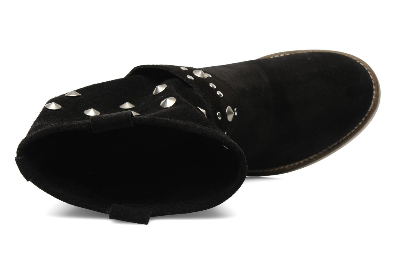 Bottines et boots Méliné Mulaby Noir vue gauche