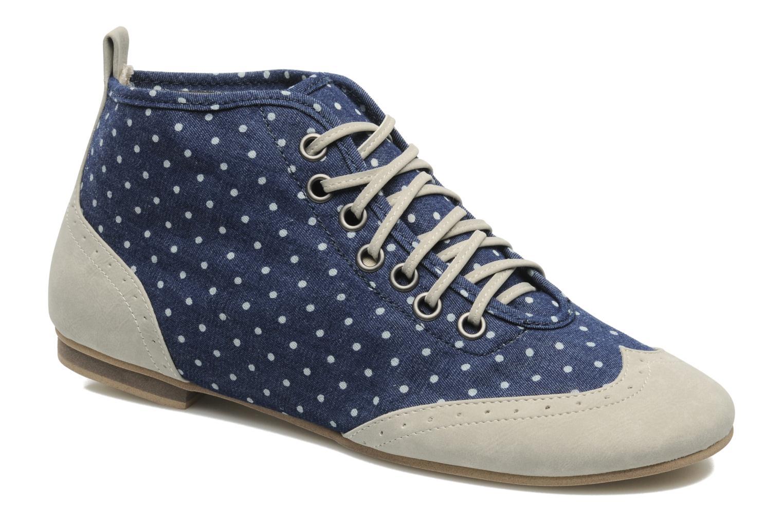 Chaussures à lacets One Step Venicia Bleu vue détail/paire