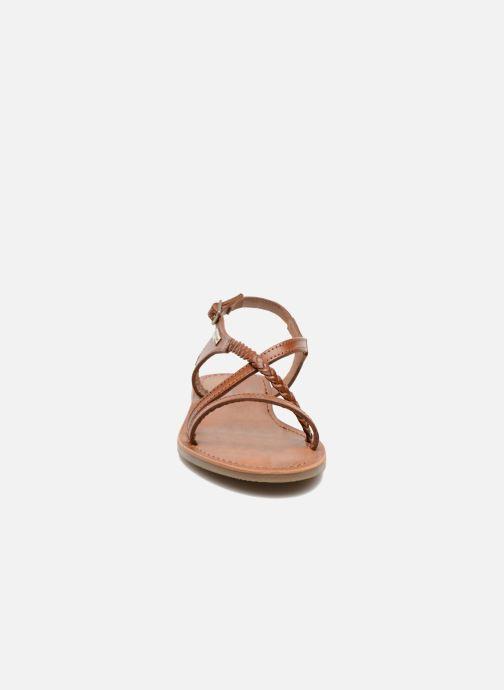 Sandalen Les Tropéziennes par M Belarbi Hanano braun schuhe getragen
