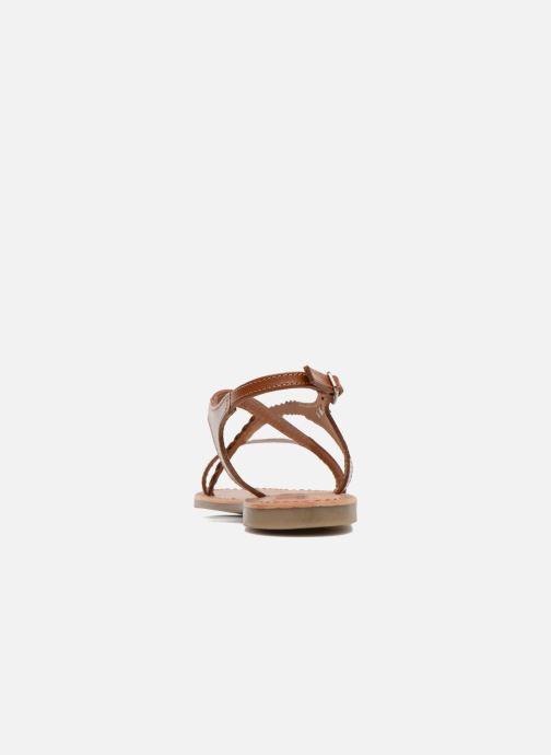 Sandali e scarpe aperte Les Tropéziennes par M Belarbi Hanano Marrone immagine destra