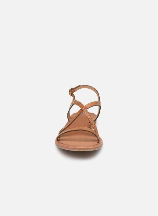 Sandali e scarpe aperte Les Tropéziennes par M Belarbi Hanano Marrone modello indossato