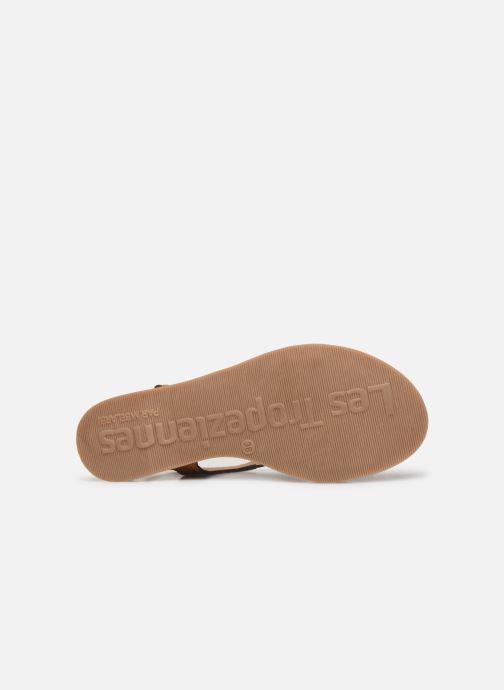Sandales et nu-pieds Les Tropéziennes par M Belarbi Hanano Marron vue haut