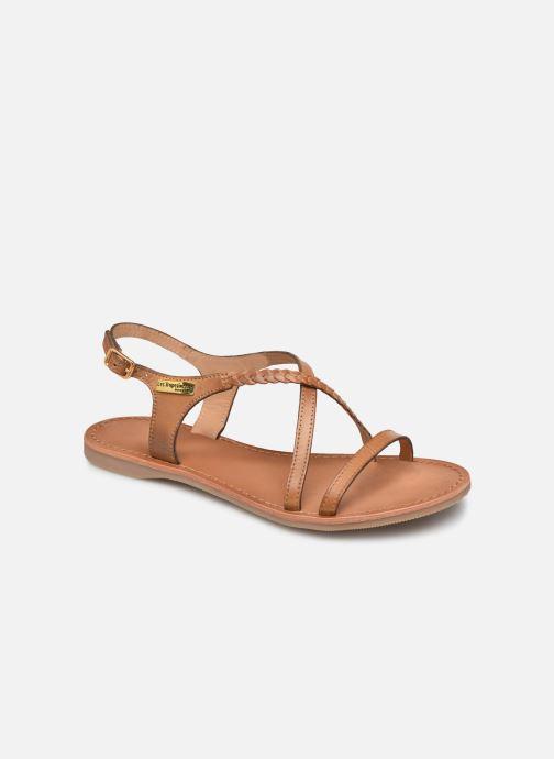 Sandals Les Tropéziennes par M Belarbi Hanano Brown detailed view/ Pair view