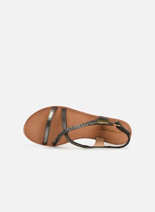 Sandales et nu-pieds Les Tropéziennes par M Belarbi Hanano Noir vue gauche