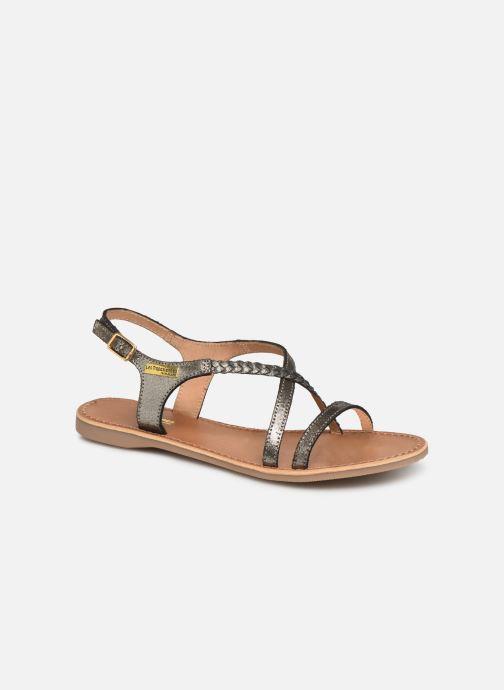 Sandales et nu-pieds Les Tropéziennes par M Belarbi Hanano Noir vue détail/paire