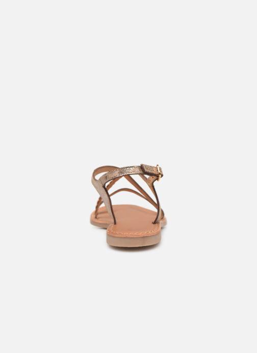 Sandalen Les Tropéziennes par M Belarbi Hanano gold/bronze ansicht von rechts