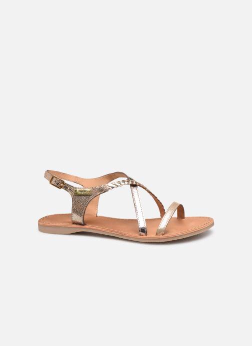 Sandales et nu-pieds Les Tropéziennes par M Belarbi Hanano Or et bronze vue derrière