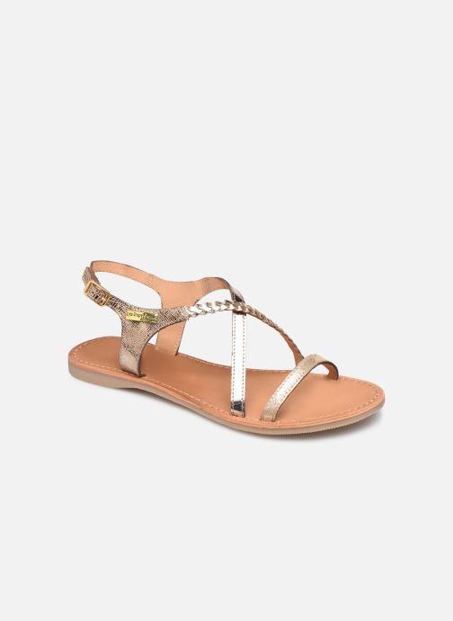 Sandaler Les Tropéziennes par M Belarbi Hanano Guld og bronze detaljeret billede af skoene