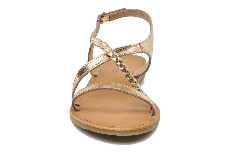 Sandals Les Tropéziennes par M Belarbi Hanano Bronze and Gold model view