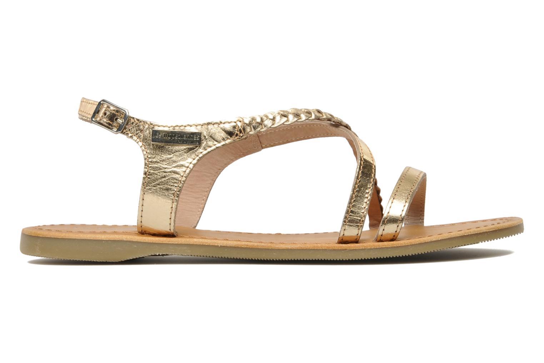 Sandals Les Tropéziennes par M Belarbi Hanano Bronze and Gold back view
