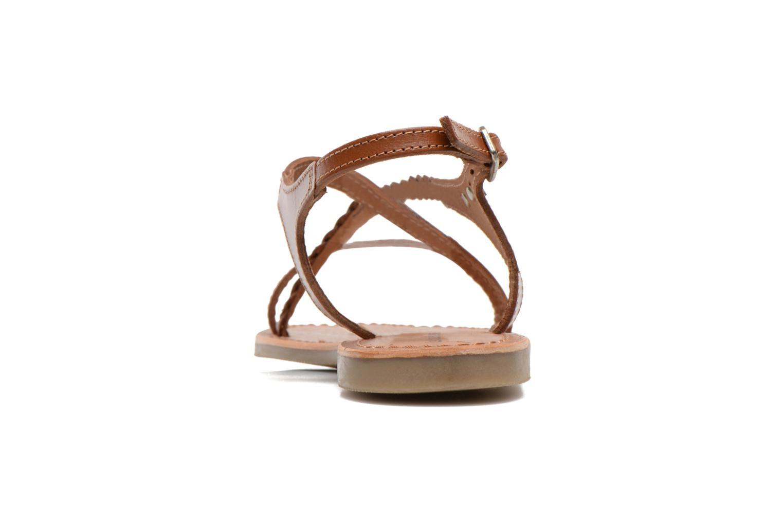 Sandalen Les Tropéziennes par M Belarbi Hanano braun ansicht von rechts