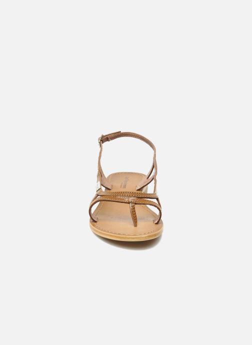 Sandali e scarpe aperte Les Tropéziennes par M Belarbi Isatis Marrone modello indossato