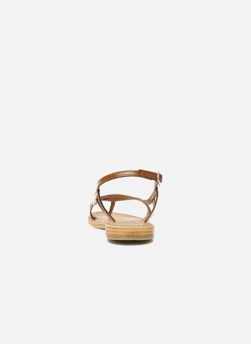 Sandalen Les Tropéziennes par M Belarbi Isatis braun ansicht von rechts