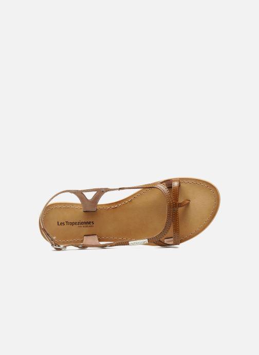 Sandales et nu-pieds Les Tropéziennes par M Belarbi Isatis Marron vue gauche