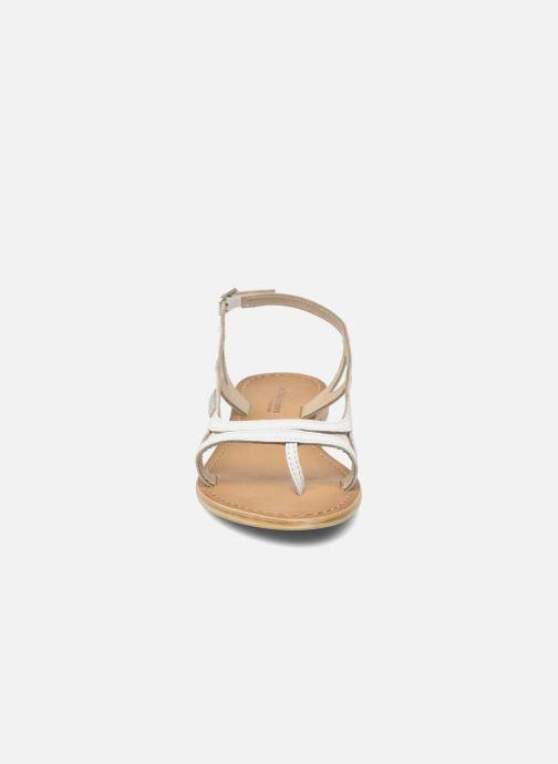 Sandali e scarpe aperte Les Tropéziennes par M Belarbi Isatis Bianco modello indossato