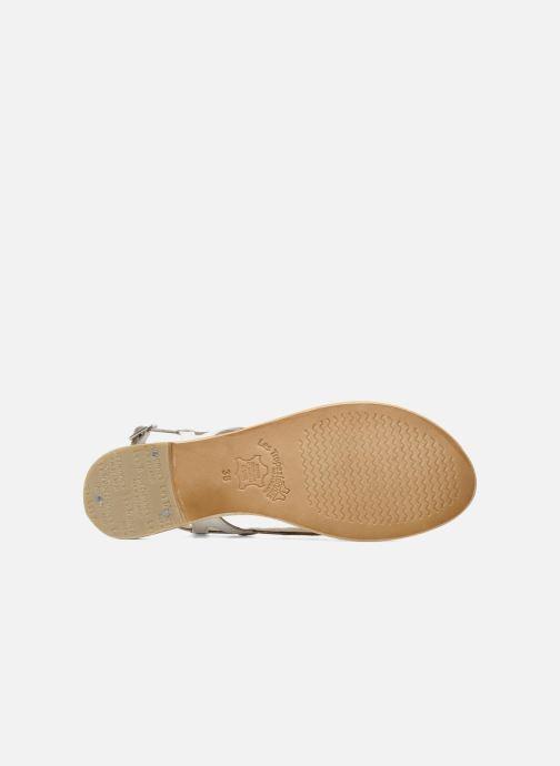 Sandales et nu-pieds Les Tropéziennes par M Belarbi Isatis Blanc vue haut