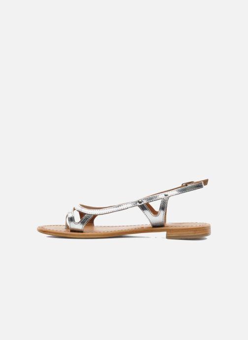 Sandali e scarpe aperte Les Tropéziennes par M Belarbi Isatis Argento immagine frontale