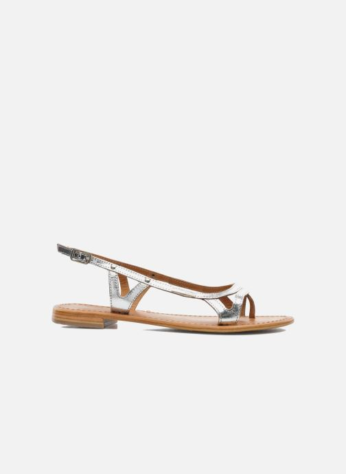 Sandales et nu-pieds Les Tropéziennes par M Belarbi Isatis Argent vue derrière