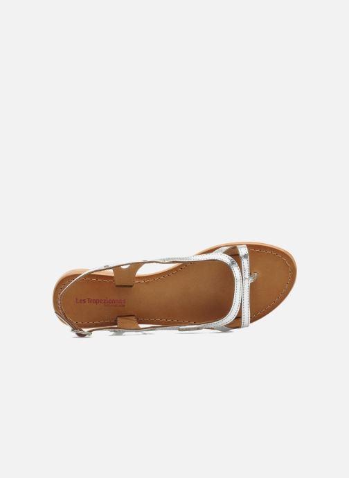 Sandales et nu-pieds Les Tropéziennes par M Belarbi Isatis Argent vue gauche