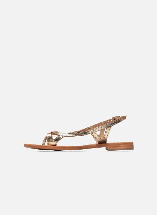 Sandali e scarpe aperte Les Tropéziennes par M Belarbi Isatis Oro e bronzo immagine frontale