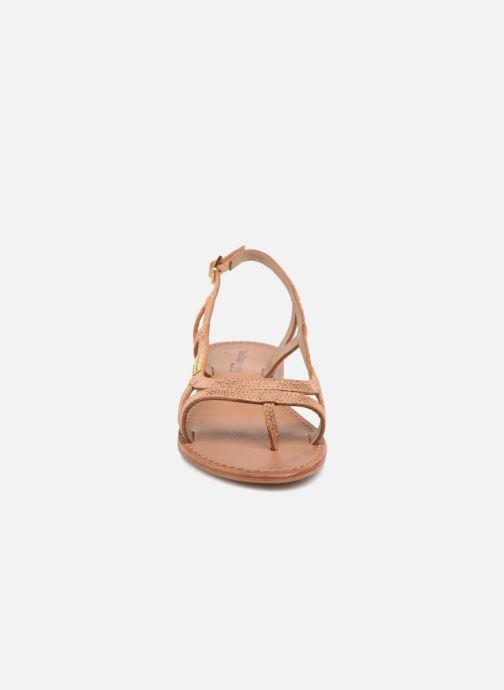 Sandali e scarpe aperte Les Tropéziennes par M Belarbi Isatis Rosa modello indossato