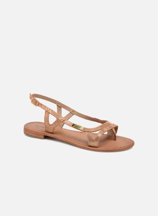 Sandales et nu-pieds Les Tropéziennes par M Belarbi Isatis Rose vue détail/paire