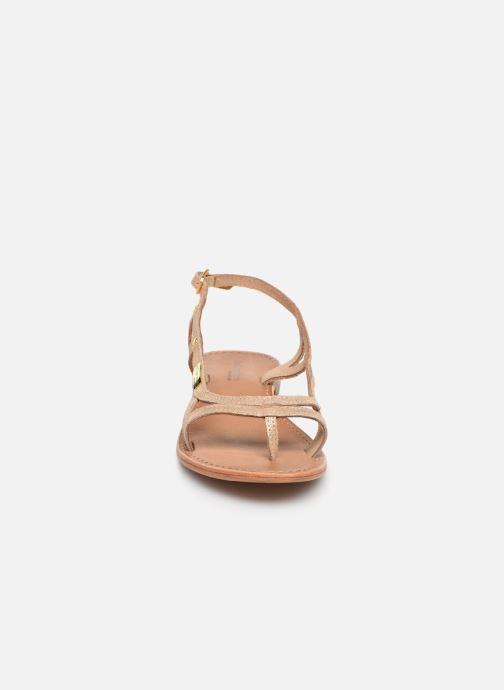 Sandals Les Tropéziennes par M Belarbi Isatis Bronze and Gold model view
