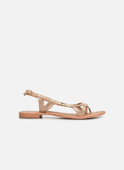 Sandals Les Tropéziennes par M Belarbi Isatis Bronze and Gold back view