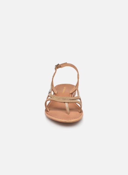 Sandalen Les Tropéziennes par M Belarbi Isatis braun schuhe getragen