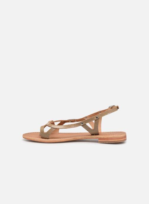 Sandals Les Tropéziennes par M Belarbi Isatis Brown front view