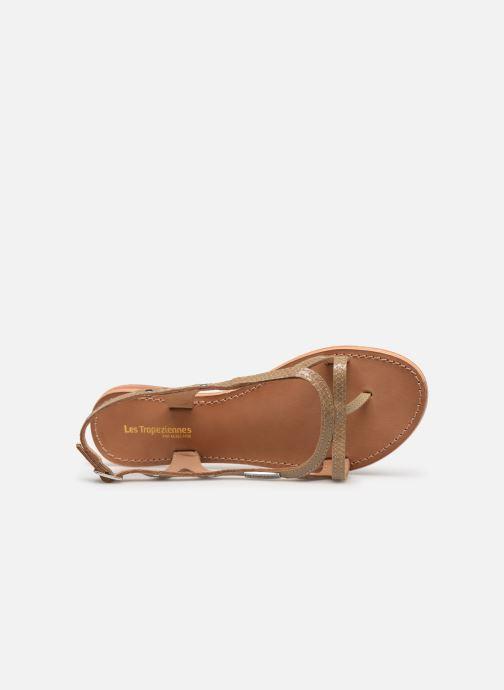 Sandals Les Tropéziennes par M Belarbi Isatis Brown view from the left