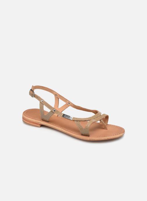 Sandales et nu-pieds Les Tropéziennes par M Belarbi Isatis Marron vue détail/paire