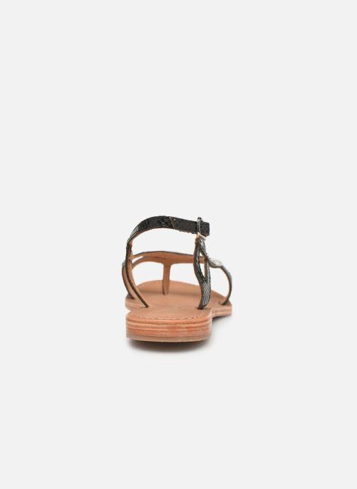Sandales et nu-pieds Les Tropéziennes par M Belarbi Isatis Noir vue droite