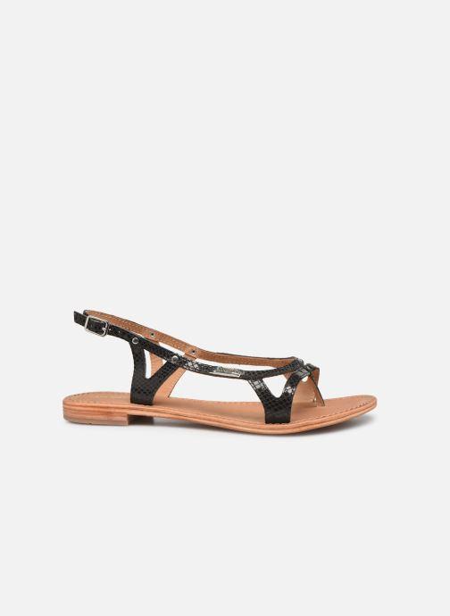 Sandales et nu-pieds Les Tropéziennes par M Belarbi Isatis Noir vue derrière