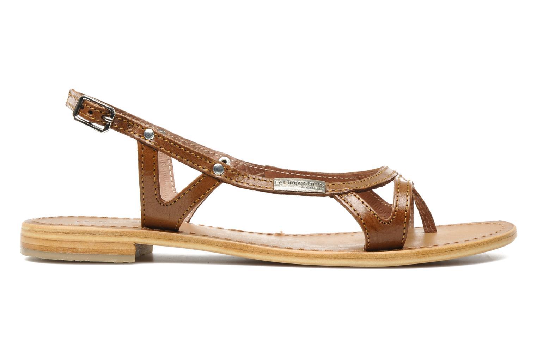 Sandales et nu-pieds Les Tropéziennes par M Belarbi Isatis Marron vue derrière
