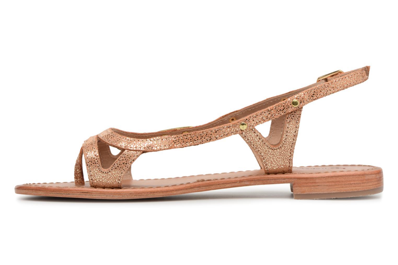 Sandales et nu-pieds Les Tropéziennes par M Belarbi Isatis Rose vue face