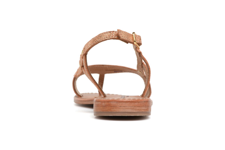 Sandales et nu-pieds Les Tropéziennes par M Belarbi Isatis Rose vue droite