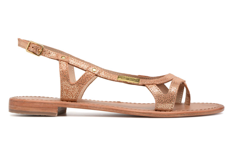 Sandales et nu-pieds Les Tropéziennes par M Belarbi Isatis Rose vue derrière