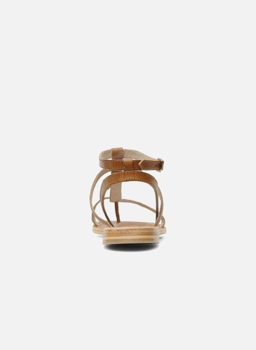 Sandalen Les Tropéziennes par M Belarbi Hilan braun ansicht von rechts