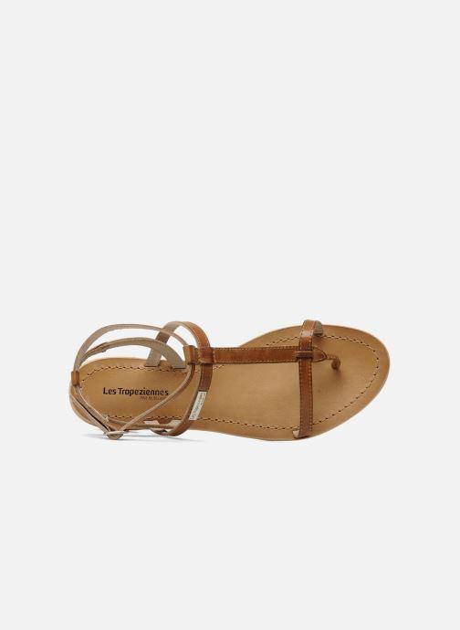 Sandali e scarpe aperte Les Tropéziennes par M Belarbi Hilan Marrone immagine sinistra