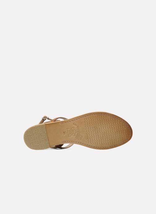 Sandals Les Tropéziennes par M Belarbi Hilan Brown view from above