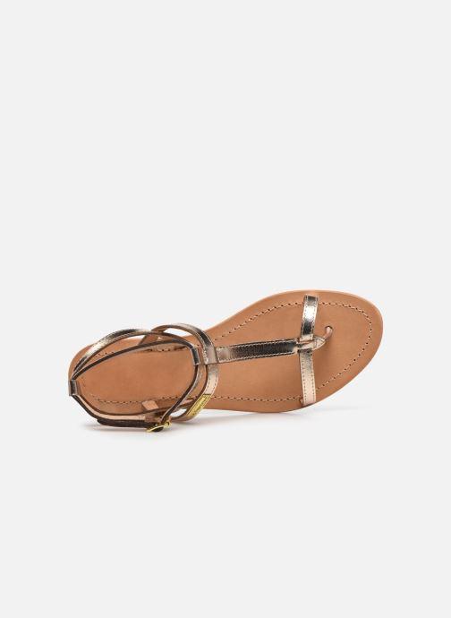 Sandali e scarpe aperte Les Tropéziennes par M Belarbi Hilan Oro e bronzo immagine sinistra