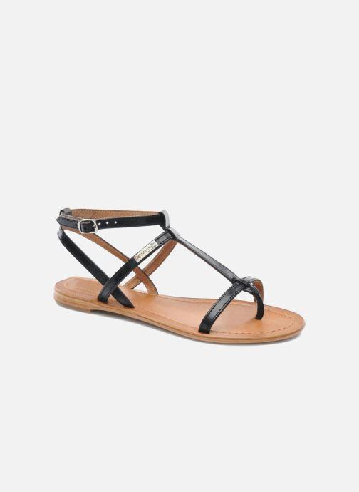 Sandals Les Tropéziennes par M Belarbi Hilan Black detailed view/ Pair view