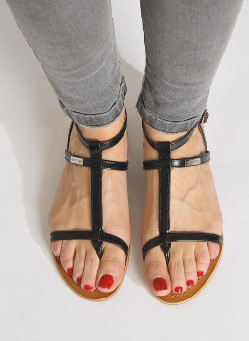 Sandales et nu-pieds Les Tropéziennes par M Belarbi Hilan Multicolore vue bas / vue portée sac