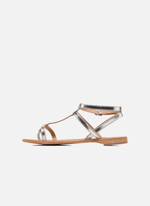Sandales et nu-pieds Les Tropéziennes par M Belarbi Hilan Argent vue face