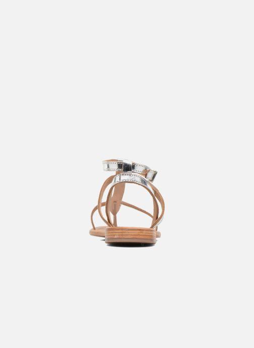Sandales et nu-pieds Les Tropéziennes par M Belarbi Hilan Argent vue droite