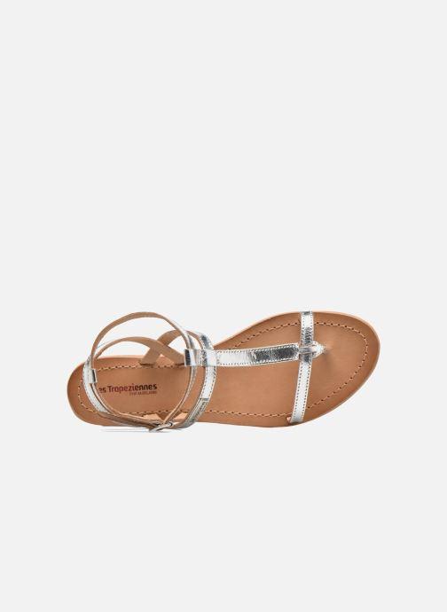 Sandales et nu-pieds Les Tropéziennes par M Belarbi Hilan Argent vue gauche
