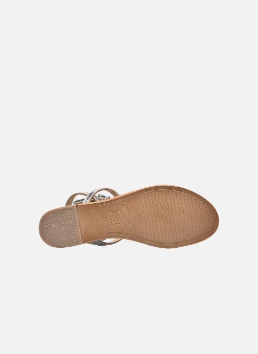 Sandales et nu-pieds Les Tropéziennes par M Belarbi Hilan Argent vue haut