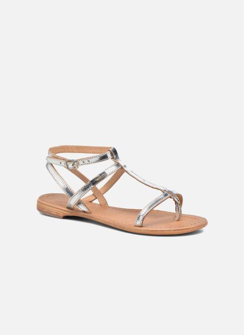 Sandales et nu-pieds Les Tropéziennes par M Belarbi Hilan Argent vue détail/paire
